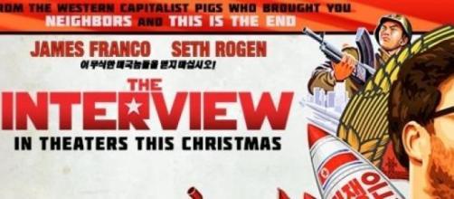 Anuncio de la película 'The Interview'