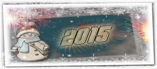Cartoline e frasi buon anno 2015