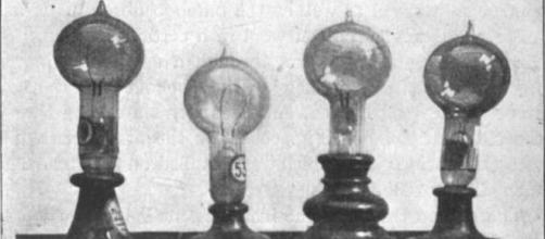 Edison's Incandescent lightbulbs