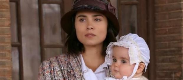 La piccola Esperanza, figlia di Maria e Gonzalo