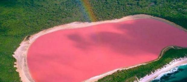 lacul Hillier din Australia