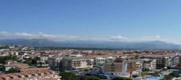Panoramica della città di Cosenza