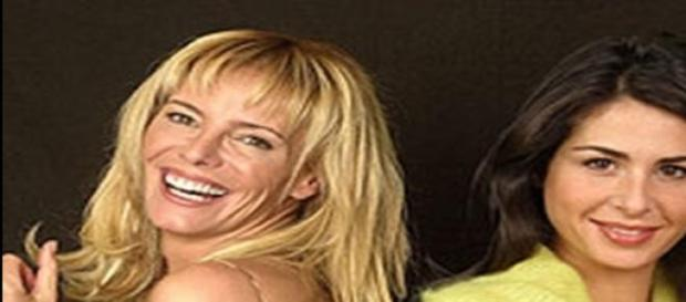 """Paula y Nuria las conductoras de la """"Isla de.."""""""