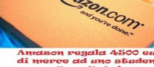 Amazon regala 4500 di merce per sbaglio.