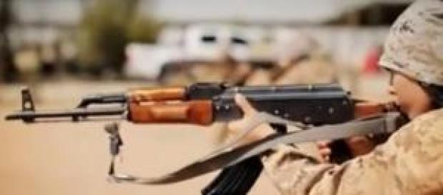 Capture d'ecran, les enfants soldats d'ISIS