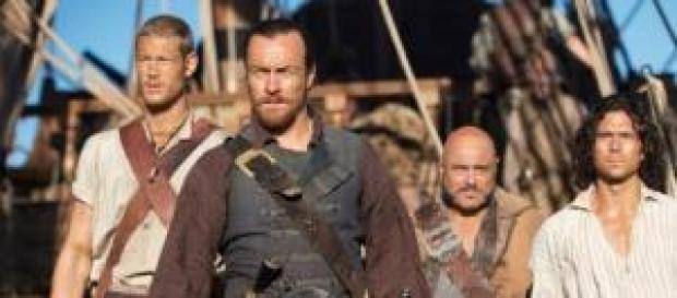 El Capitán Flint y su tripulación