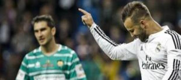 Jesé dedicó su gol a sus médicos. Foto: RTVE