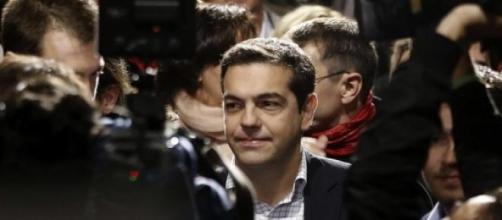 Alexis Tsriprar, líder de Syriza