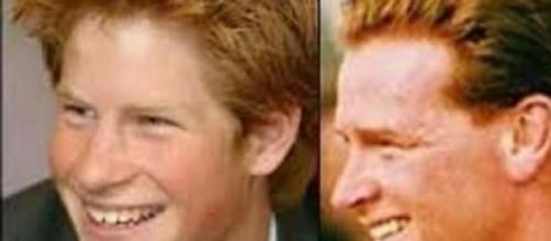 Il Principe Harry e il suo presunto padre