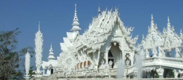 Il tempo bianco di Chiang Rai, in Thailandia