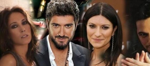 Laura Pausini, Alejandro Sanz, Malú y Orozco