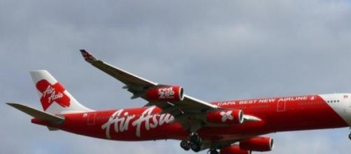 Air asia plane heading to Heathrow