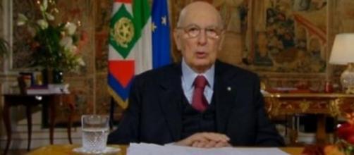 Ultimo discorso di fine anno per Napolitano