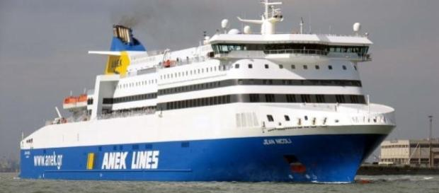 El ferry 'Norman Atlantic'