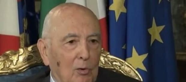 Il congedo del Presidente Giorgio Napolitano