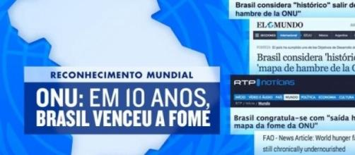 Brasil cumpre 2 metas da ONU com antecipação
