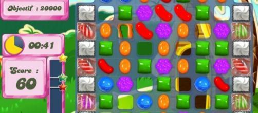 Capture d'écran du jeu Candy Crush
