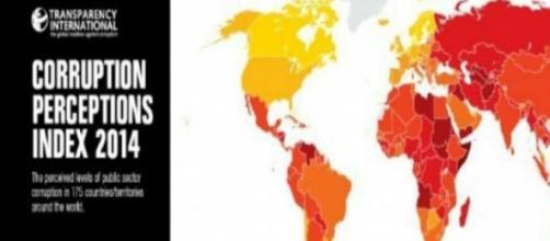 Dal giallo al rosso i colori della corruzione