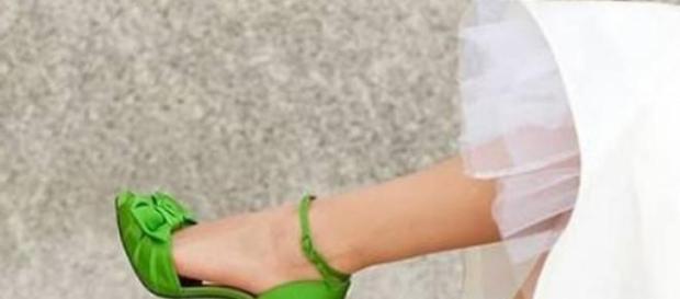 Sapatos de noiva coloridos
