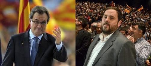 Artur Mas y Oriol Junqueras necesitan un acuerdo