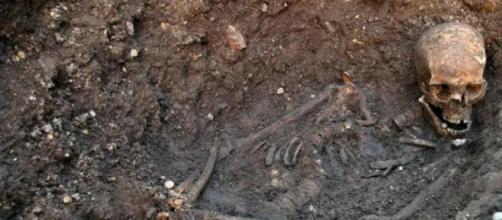 El esqueleto de Ricardo III