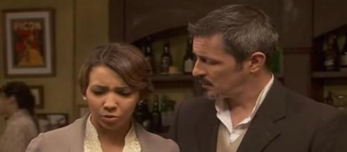 Emilia e Alfonso della soap Il Segreto