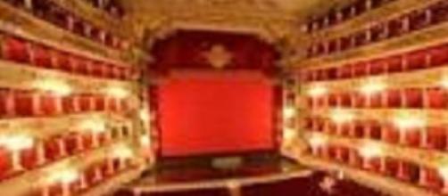 Nella foto, interno del Teatro alla Scala, Milano