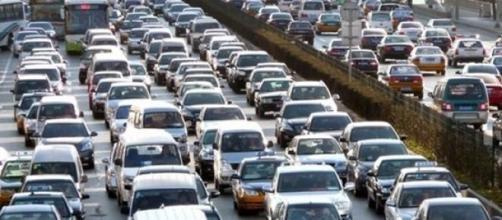 situación de trafico bastante densa