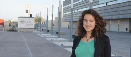 Una joven española llamada Estrella Fernández
