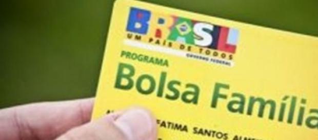 Cartão do Bolsa Família (Foto: Site Consulta BF)