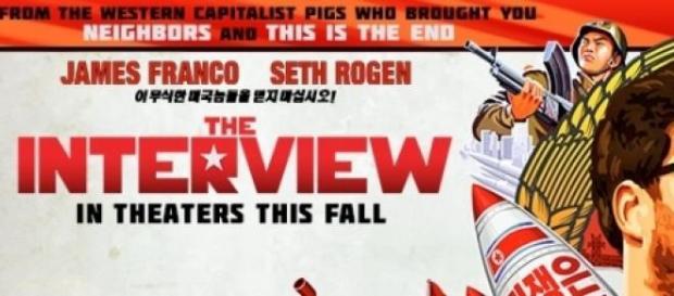 """Cartel de la película """"The Interview"""""""