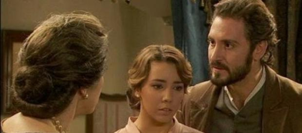 Francisca sta avvelenando Raimundo Ulloa