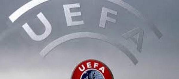 Il simbolo dell'organizzazione calcistica Uefa