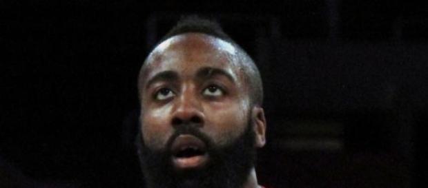 James Harden, jugador de los Rockets