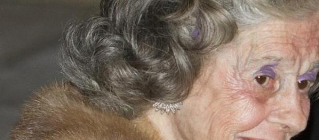 La Reina Fabiola en 2012.