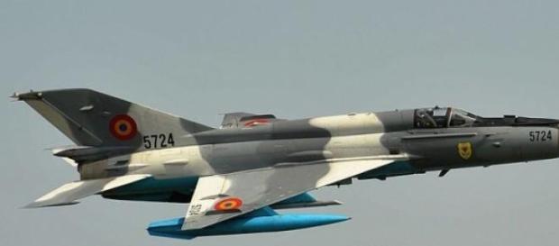 MiG russo levou a manobra brusca de caça norueguês