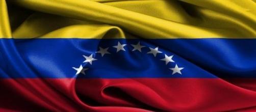 Bandera  de la Republica Bolivariana Venezolana
