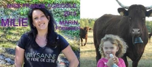 La miss et la mini miss France Agricole