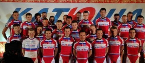 Presentación del equipo Katusha