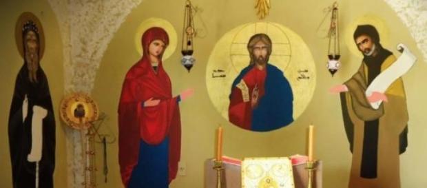 Arte bizantina caracteriza igrejas ortodoxas