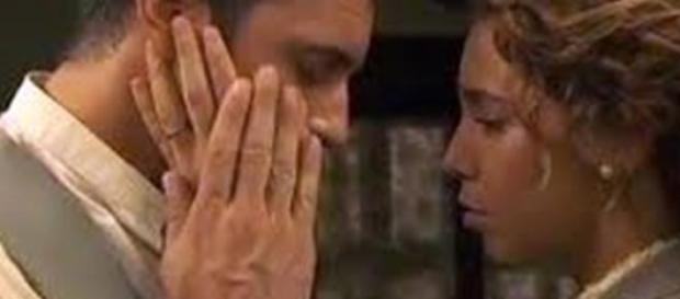 Emilia si confida con Alfonso