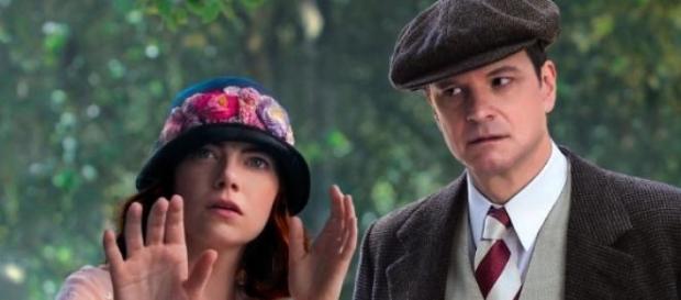 Emma Stone y Colin Firth