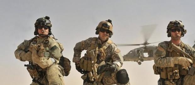Fuerzas de rescate de USA.