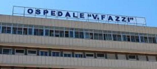 L'ospedale 'Vito Fazzi' di Lecce