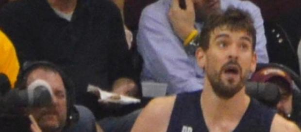 Marc Gasol con los Memphis Grizzlies.