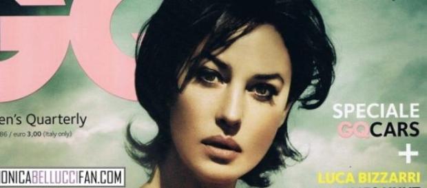 Monica Bellucci in copertina, la star del cinema