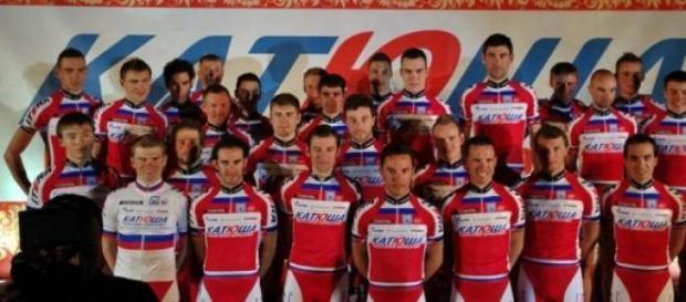 Presentación del equipo de Katusha