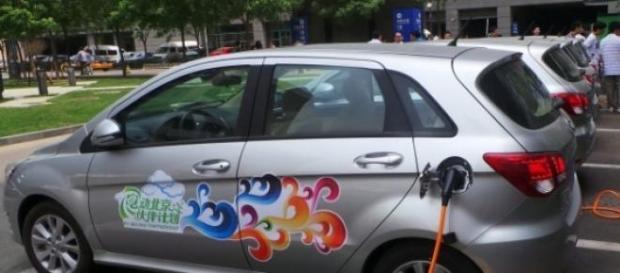 voitures électriques de location à Pékin