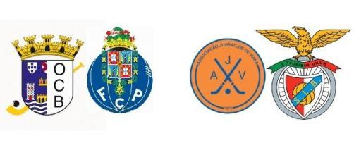 Barcelos vs Porto - Viana vs Benfica
