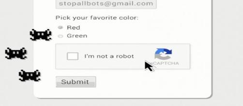Google Captcha, no soy un robot